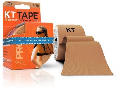 KT TAPE PRO, Un-cut, Synthetic, Stealth Beige - 16 ft