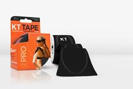 KT TAPE PRO, Un-cut, Synthetic, Jet Black - 16 ft