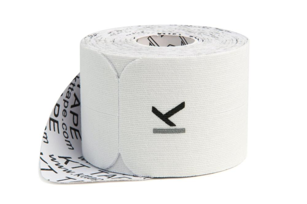 KT TAPE Original, Pre-cut, 20 Strip, Cotton, White - 16 ft