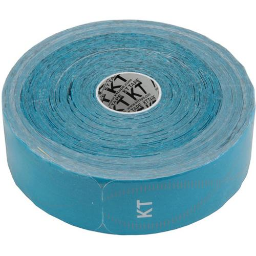 "KT TAPE PRO: Jumbo:10"" Strips Precut: Laser Blue: 125 ft / 150 Strips"