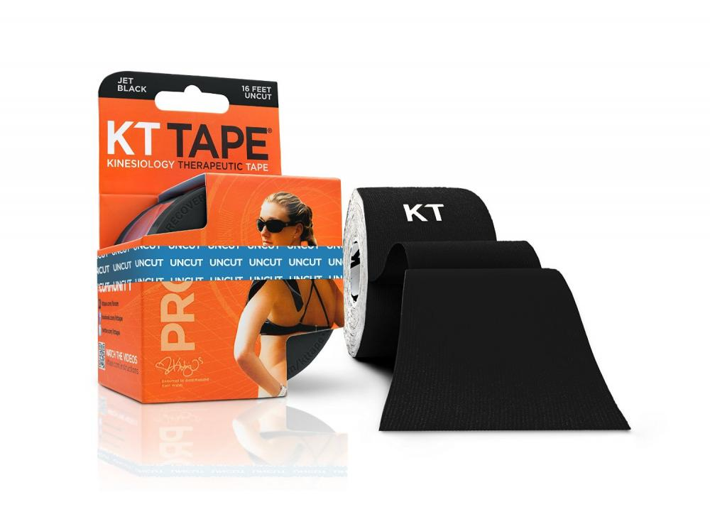 KT TAPE PRO: Standard: Uncut: Black: 16 ft