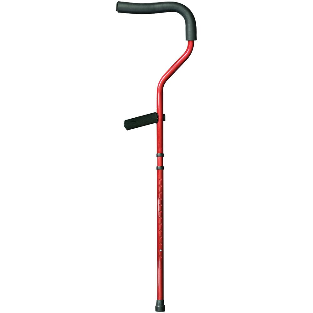 Millennial Medical Forearm Crutch, Tall Red
