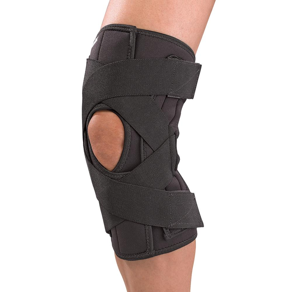 Mueller Sports Medicine Deluxe Wraparound Knee Brace Large (17.5 in. - 18 in,)