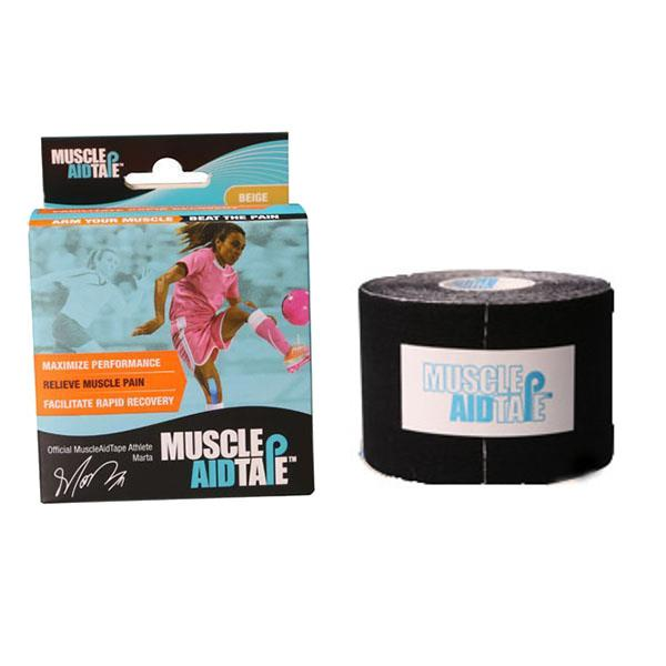 MuscleAidTape™ Single Rolls (Black)