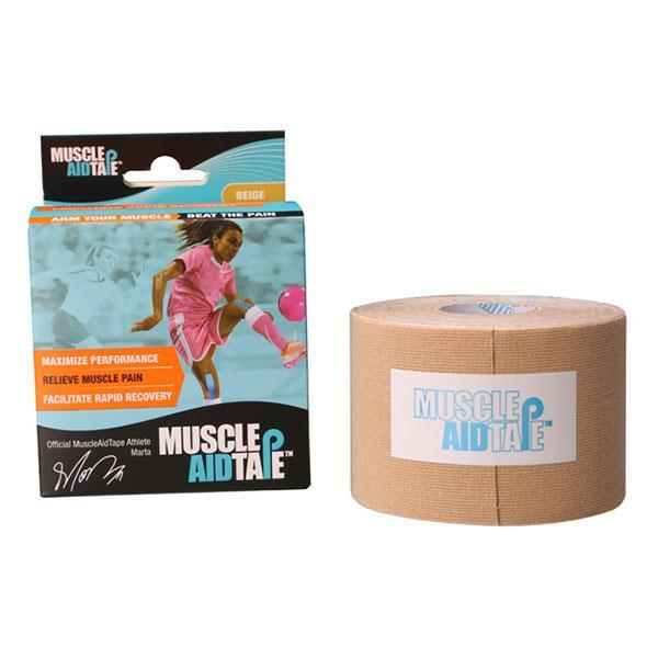 MuscleAidTape™ Single Rolls (Beige)