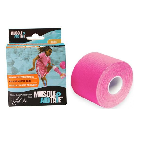MuscleAidTape™ Single Rolls (Pink)