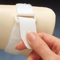 """1"""" (2.5 cm) Velcro® D-Ring Straps, BEIGE, Pack of 10 14"""" (36cm)"""