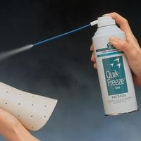 Quick-Freeze Cold Spray