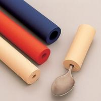 Foam Tubing Bore: 5/8, Outside Diameter: 1-1/8, Blue