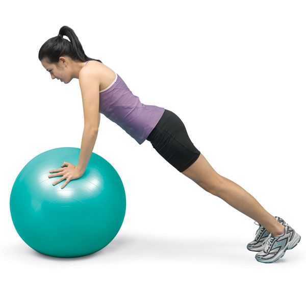 "Norco Exercise Ball 65cm (25-1/2"") - Teal"