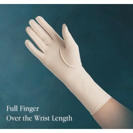 Edema Glove (full finger, over the wrist) Left - Sm