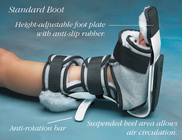 "Norco Ankle Contracture Standard Boot - Standard/Large Boot - Up to 10"" (Up to 25cm)"