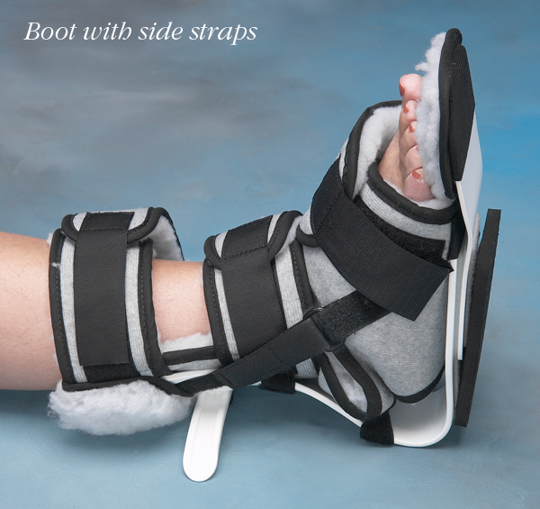 "Norco Ankle Contracture Boot, with side straps - Standard/Large Boot - Up to 10"" (Up to 25cm)"