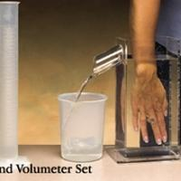 "Volumeters, Hand Set 3"" x 5"" x 11"" (7.5 x 13 x 28cm)"