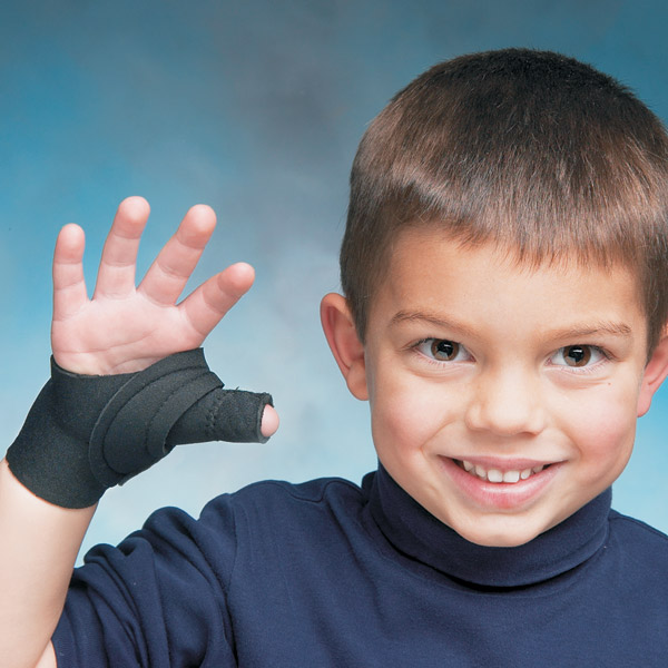 Pediatric Comfort Cool Thumb CMC Restriction Youth Left