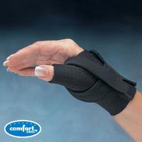 Comfort Cool Thumb CMC Restriction, Right, Black, X-Large (23 to 25cm)