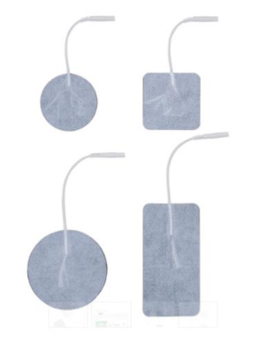 "Norco Eco-Stim Electrodes, Foam 2"" x 2"" (5.1 x 5.1 cm)"