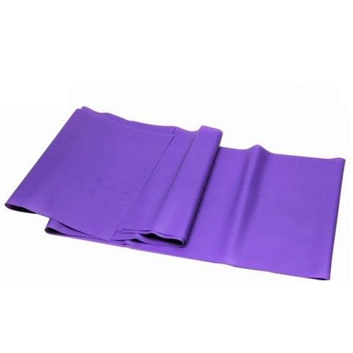 Rainbow Latex-Free Exercise Band – Purple - LVL 5 Super Heavy - Individual