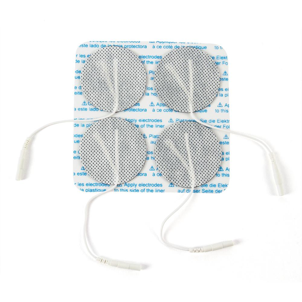 "2"" Round Economy Cloth Electrodes, 40/case"