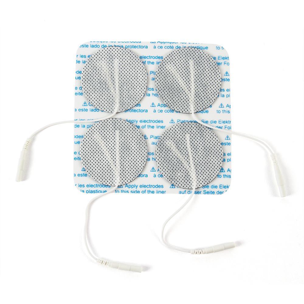 "2"" Round Economy Cloth Electrodes, 40/case"
