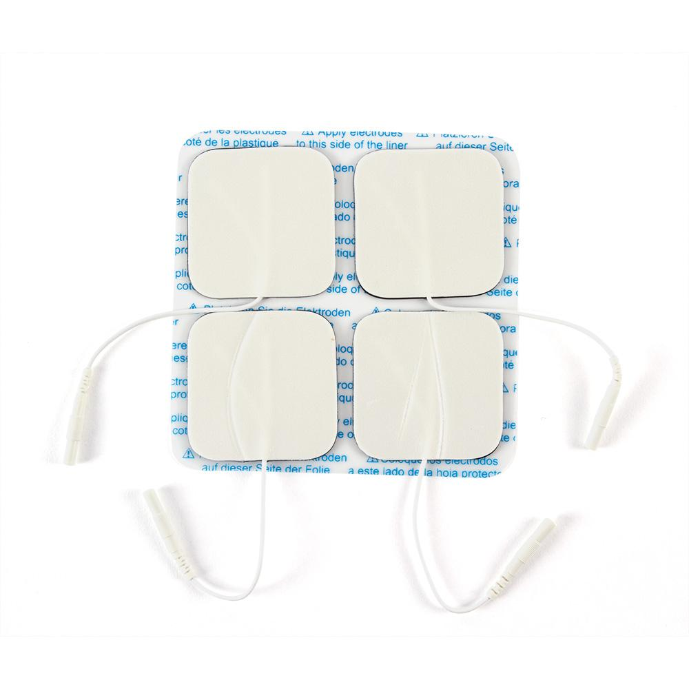 BODYMED SELF-ADHERING ELECTRODES, FOAM BACK, 2 in. X 2 in. SQUARE 4 Pack