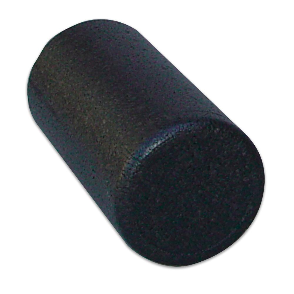 Body Sport Black Foam Roller - Full Round (6 in. x 18 in.)