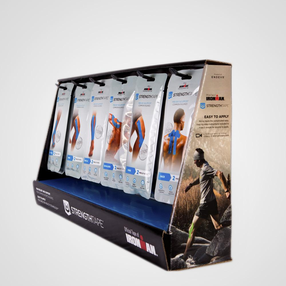 StrengthTape Kinesiology Tape Kit - Display