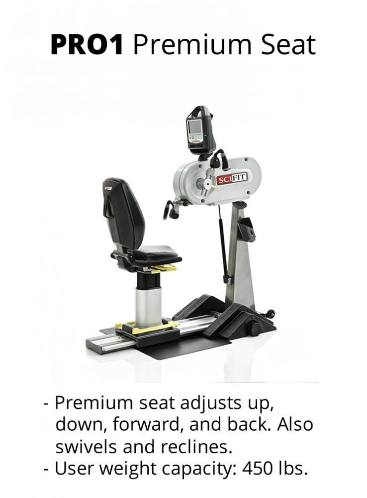 Sci-Fit PRO 1 Upper body - adjustable tilt head, cranks - premium seat