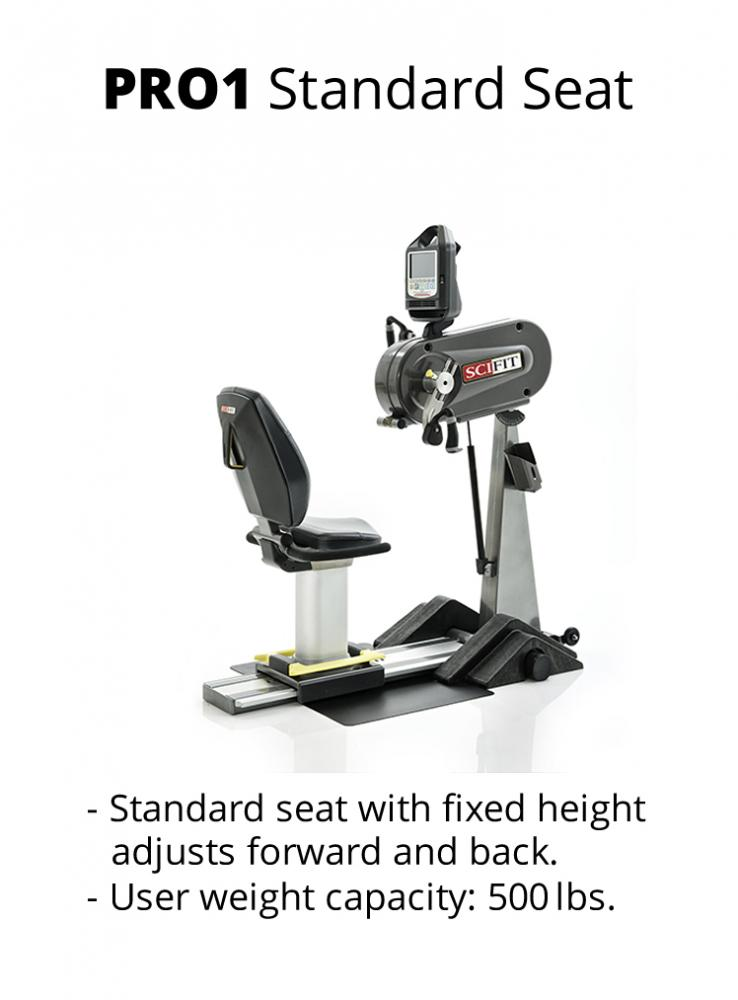 Sci-Fit PRO 1 Upper body - adjustable tilt head, cranks - standard seat