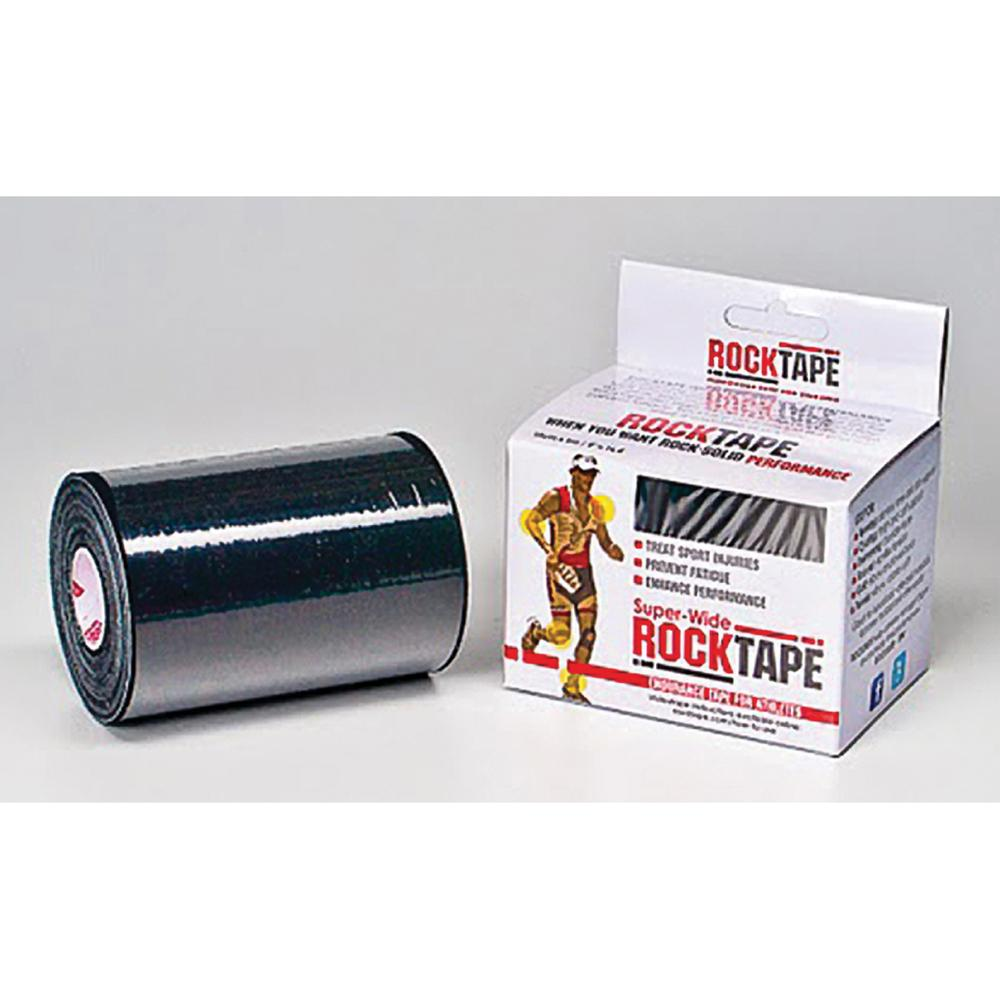 RockTape Mini Big Daddy - Black - 16.5 in. x 4 in. - Single