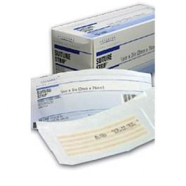 "Economy Wound Closure Strips, 1/4"" x 1-1/2"", 50 pkgs. of 5"