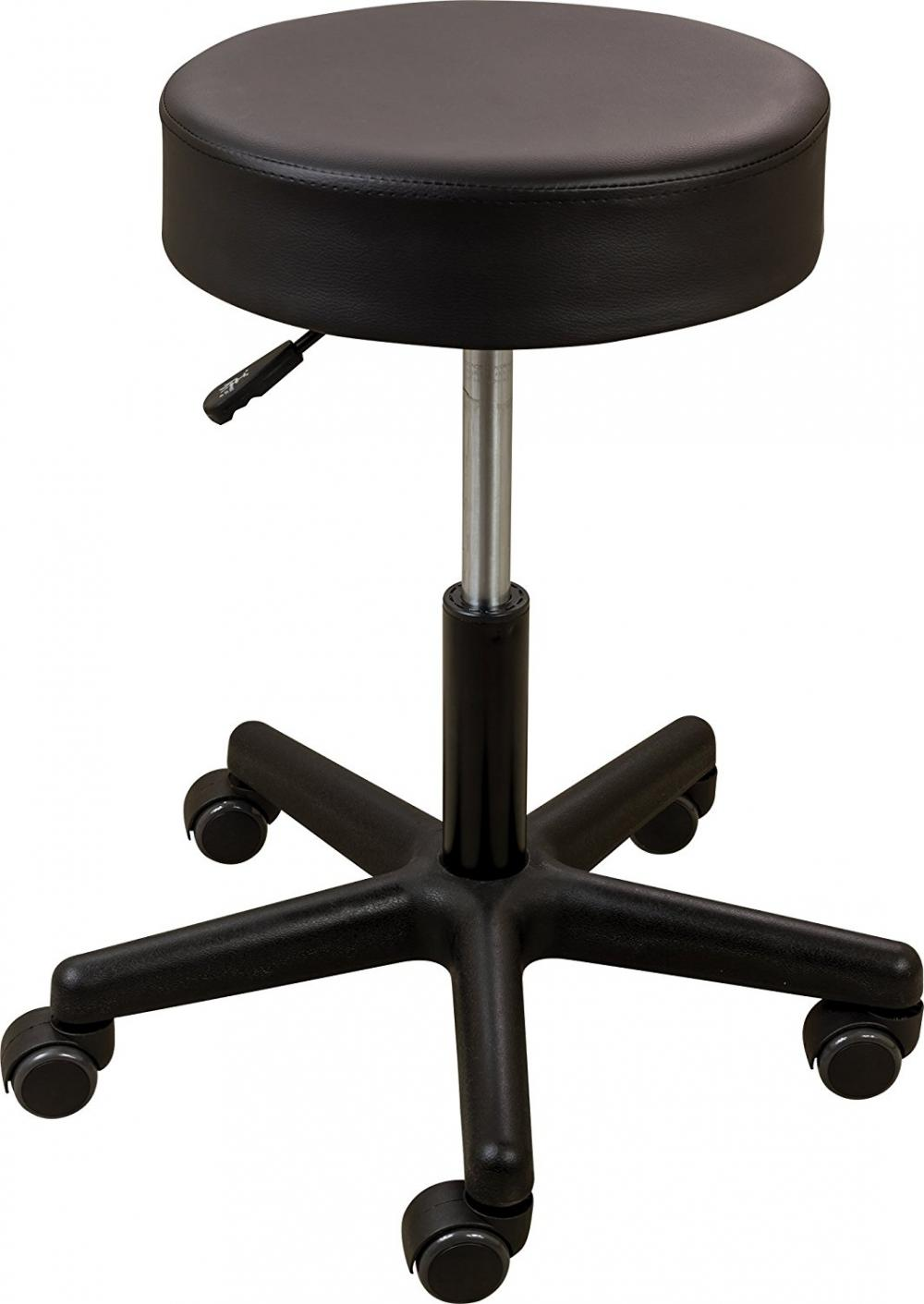 Roscoe Pneumatic Stool (Black)