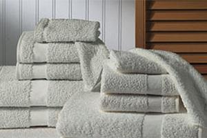 White Martex Bath Towels, 20 in x 40 in, 1 Dozen