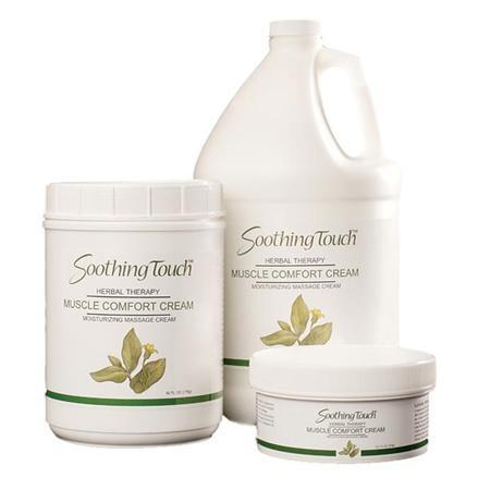 Soothing Touch Massage Cream Muscle Comfort 1 Gallon