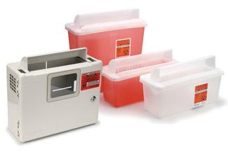 """Transparent Sage Bio-Hazard Containers Tub 850301 - 2 quart Transparent Red Tub (10"""" x 3.75"""" x 4.25"""")"""