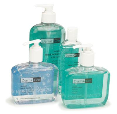 Instant Hand Sanitizer Aloe - 8 oz