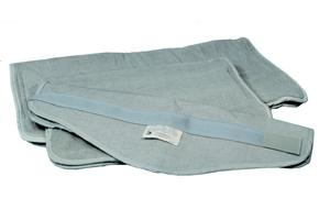 DynaHeat Oversize Terry Cover (Foam Filled), 24 in x 32 in