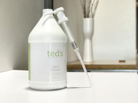 Teds Pain Cream Gallon Jug