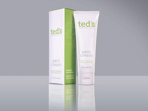 Teds Pain Cream 3 Ounce Tube