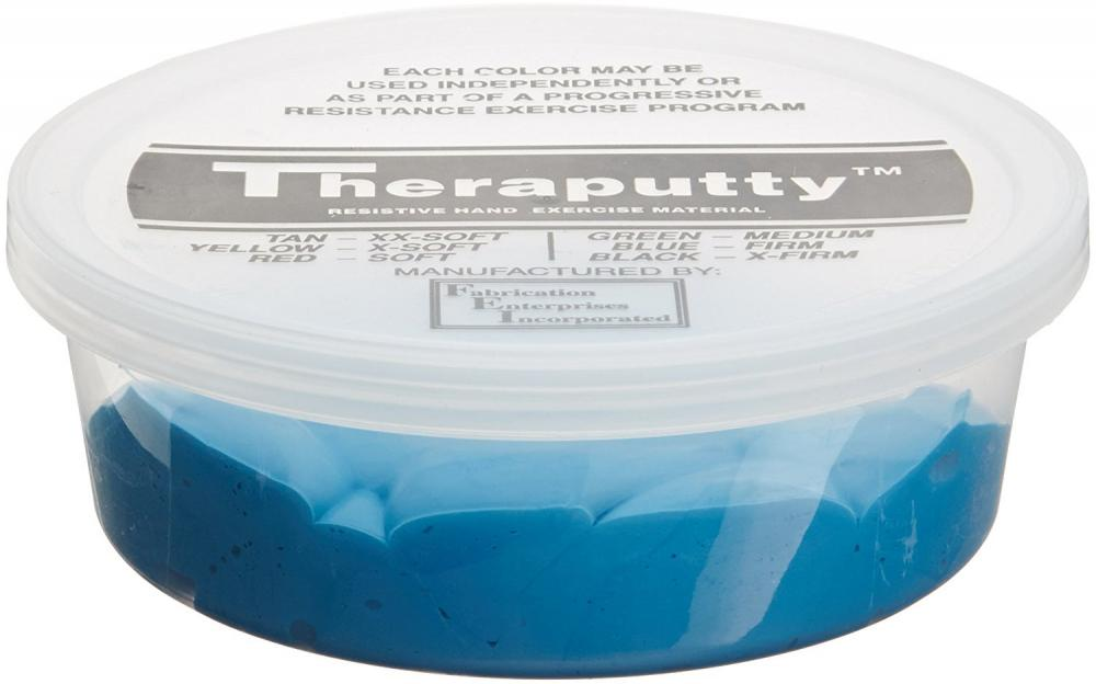 Hand Therapy Putty, Blue, firm, 3 oz.