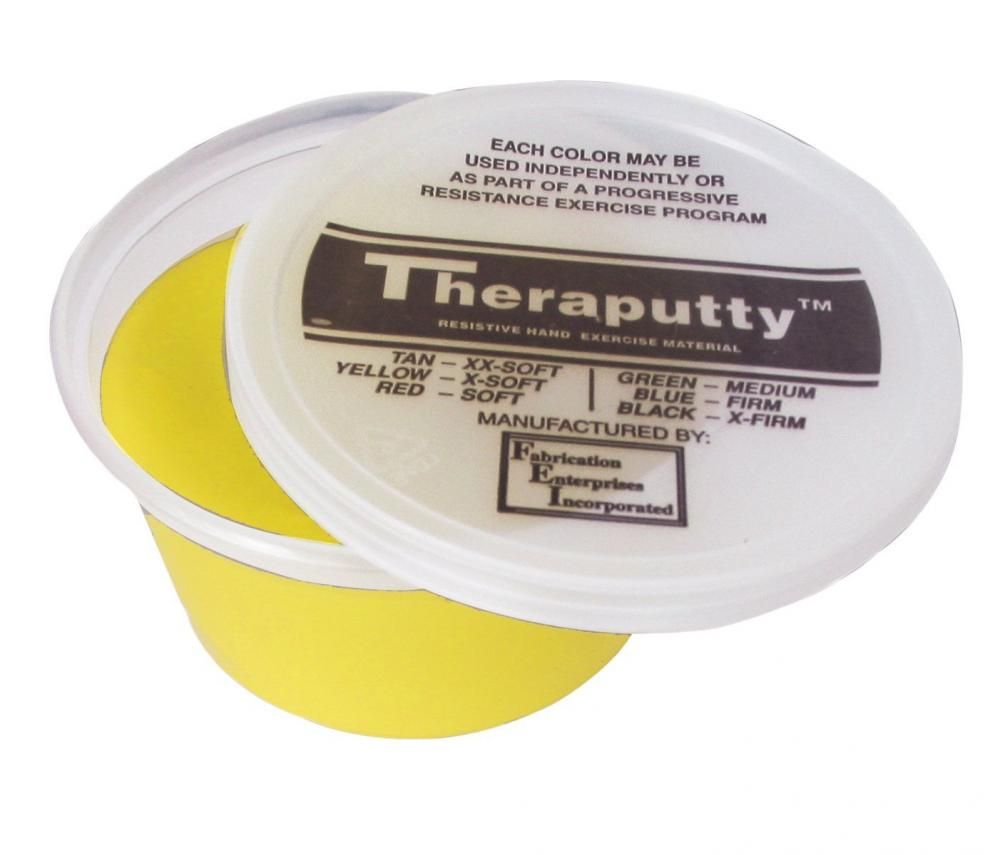 Hand Therapy Putty, Yellow, soft, 3 oz.