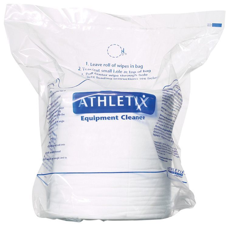 Athletix Gym X Wipes (4 Rolls/cs)