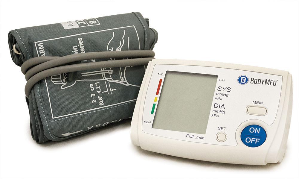 BodyMed Digital Blood Pressure Monitor with Universal Cuff