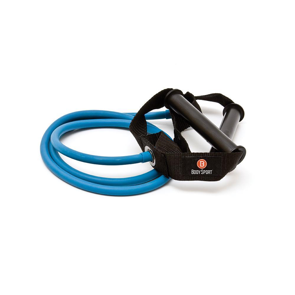 Body Sport Studio Series Resistance Tubes - Medium / Yellow - Cushioned Handles