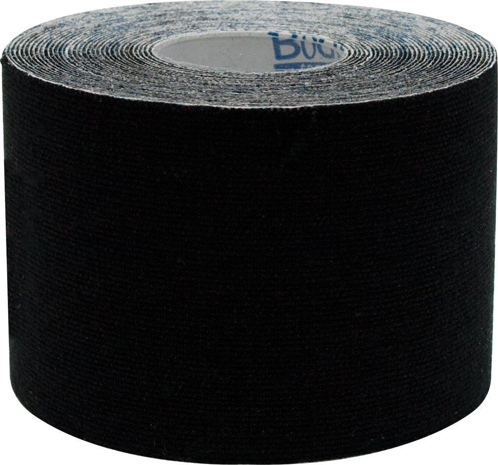 "Body Sport Physio Tape, 2"" X 5 1/2 Yds, Black, Latex Free, Water Resistant"