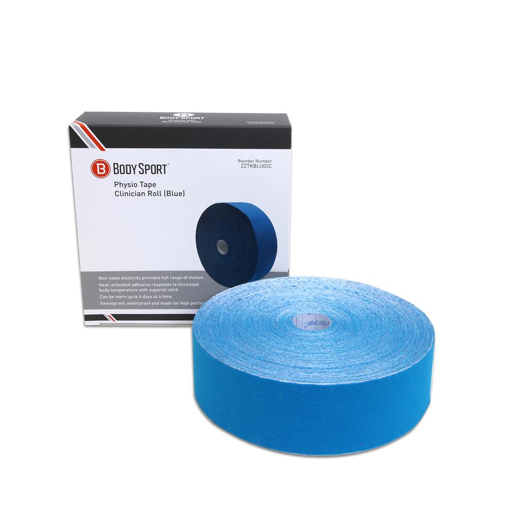 Body Sport Physio Tape 2 in. Blue 33.5 yd.