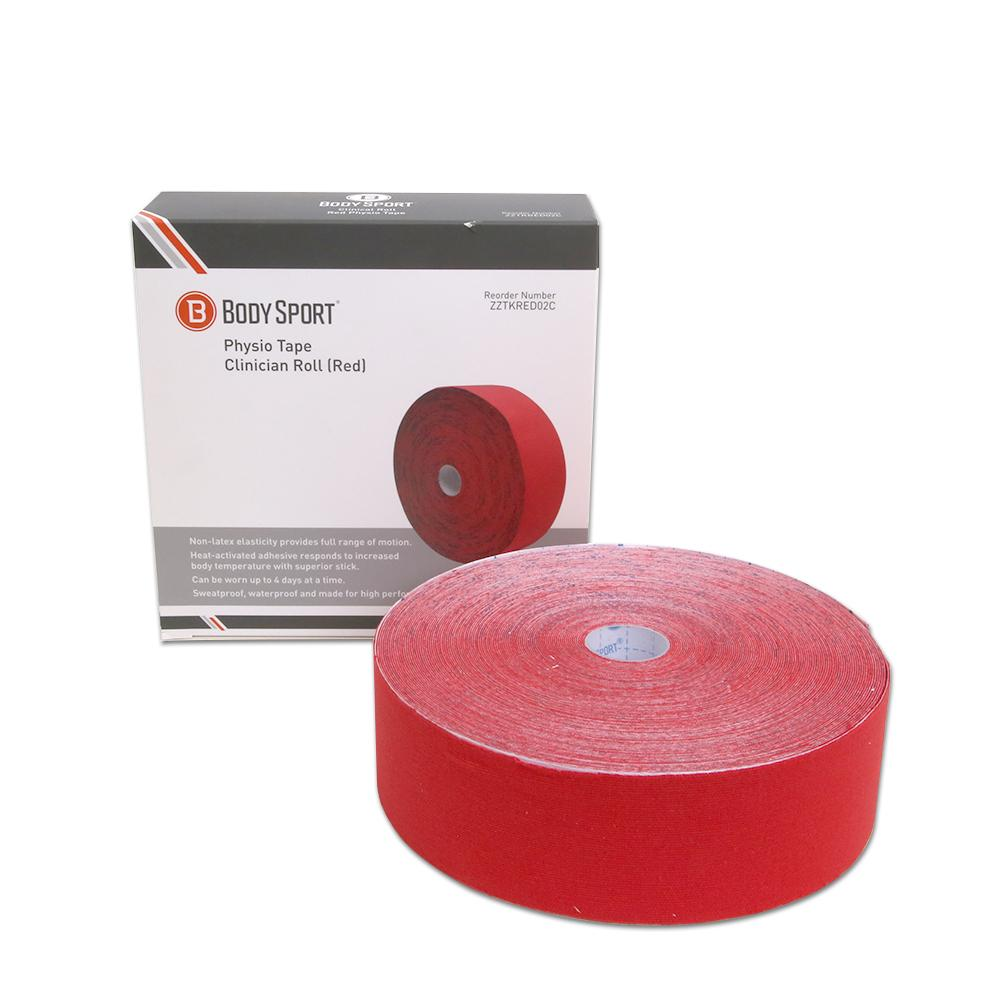 Body Sport Physio Tape 2 in. Red 33.5 yd.