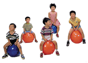 Exercise Balls With Feet