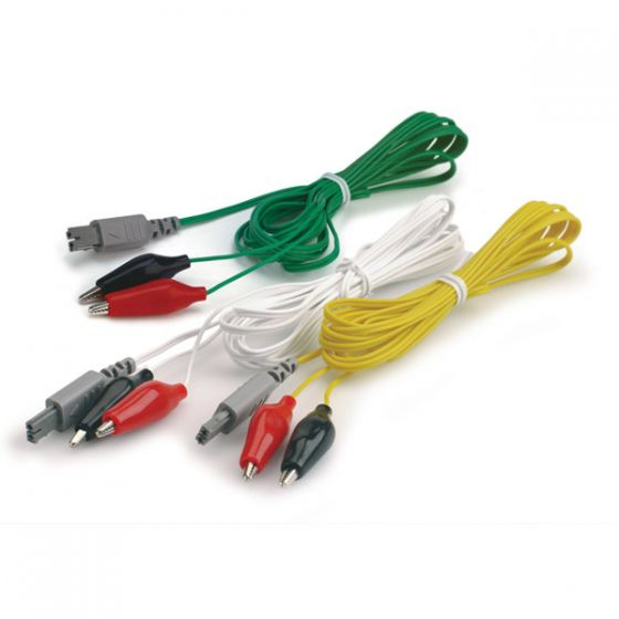 ITO ES-130 Alligator Clip Wires, Green